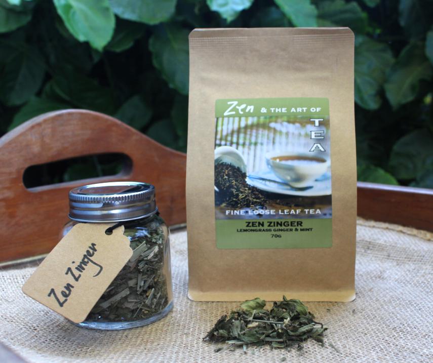 Zen Zinger Tea served at the Flying Nun Cafe in Samford